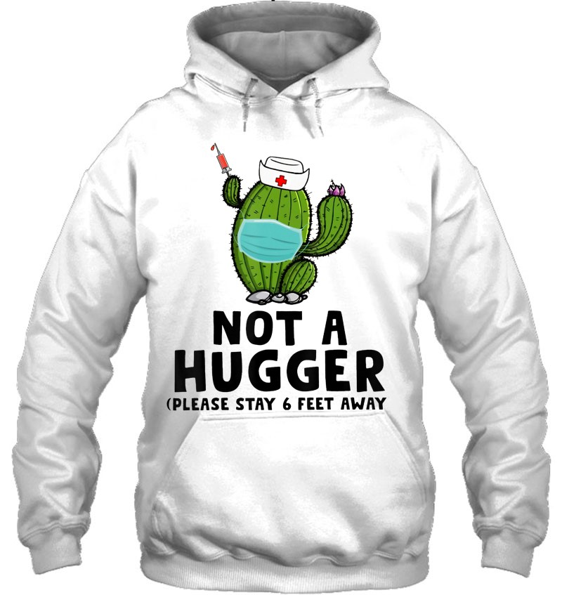 Not A Hugger Cactus Wear Mask Nurse Cactus Wear Mask Mugs
