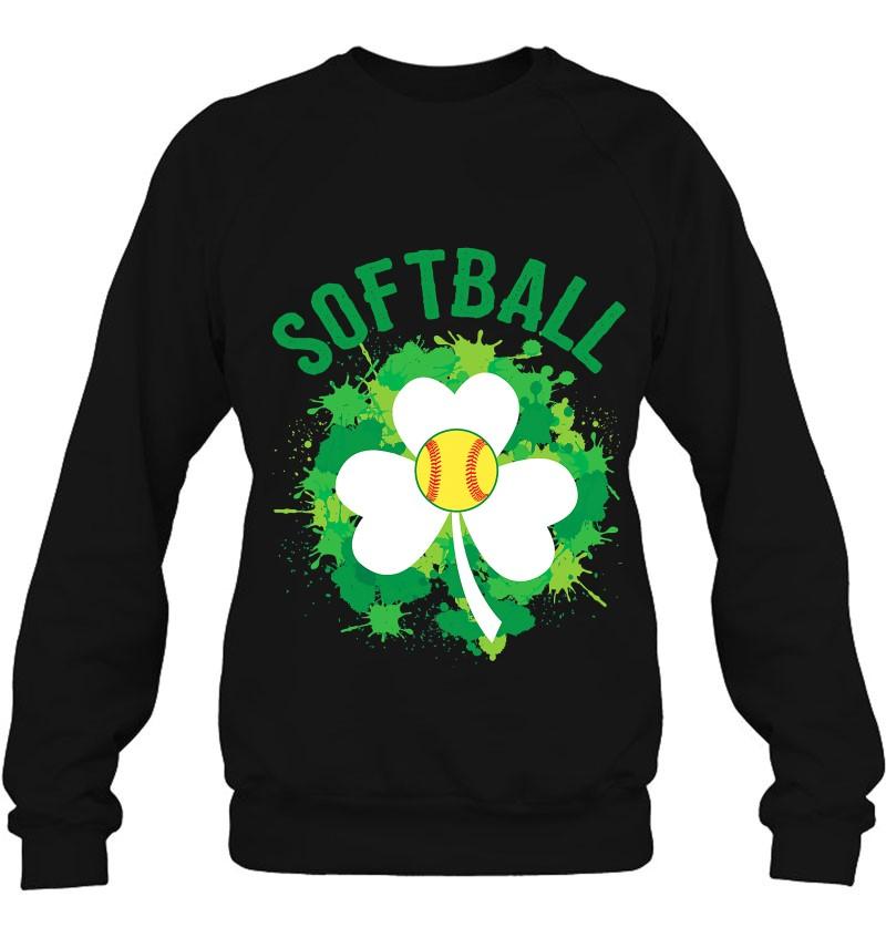 Softball Shamrock Irish Sports St Patty's Day Mugs