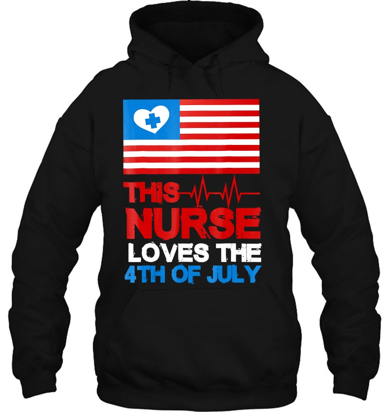 4Th Of July Shirt Cool Nurse American Flag Tshirt Gift Mugs